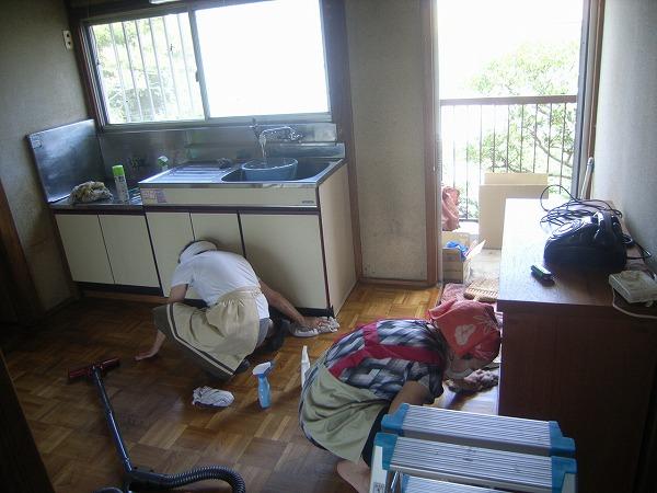 鎌倉にあるアパート荷物整理