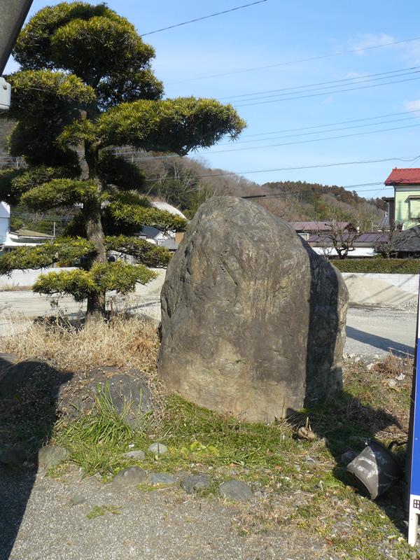 大きい庭石移動